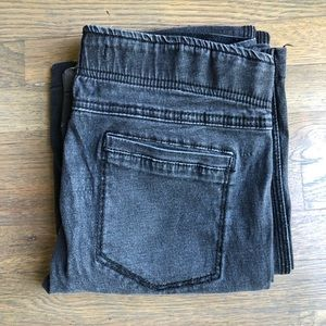 Free People Black Bell Bottom Jeans - Size 28